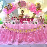Trang Trí Bàn Tiệc Thôi Nôi Cho Bé