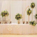 Bàn Galerry cưới đơn giản 07
