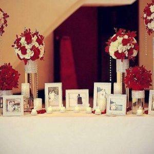 Bàn Galerry cưới đơn giản