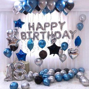 Trang trí sinh nhật người lớn